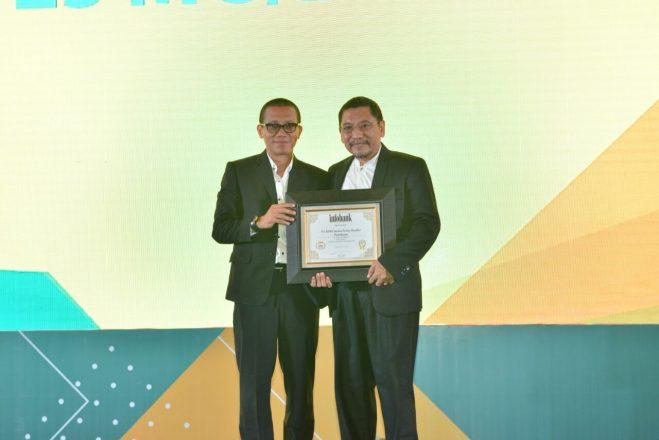 BPRS Sarana Prima Mandiri Raih Predikat Excellent dari Infobank